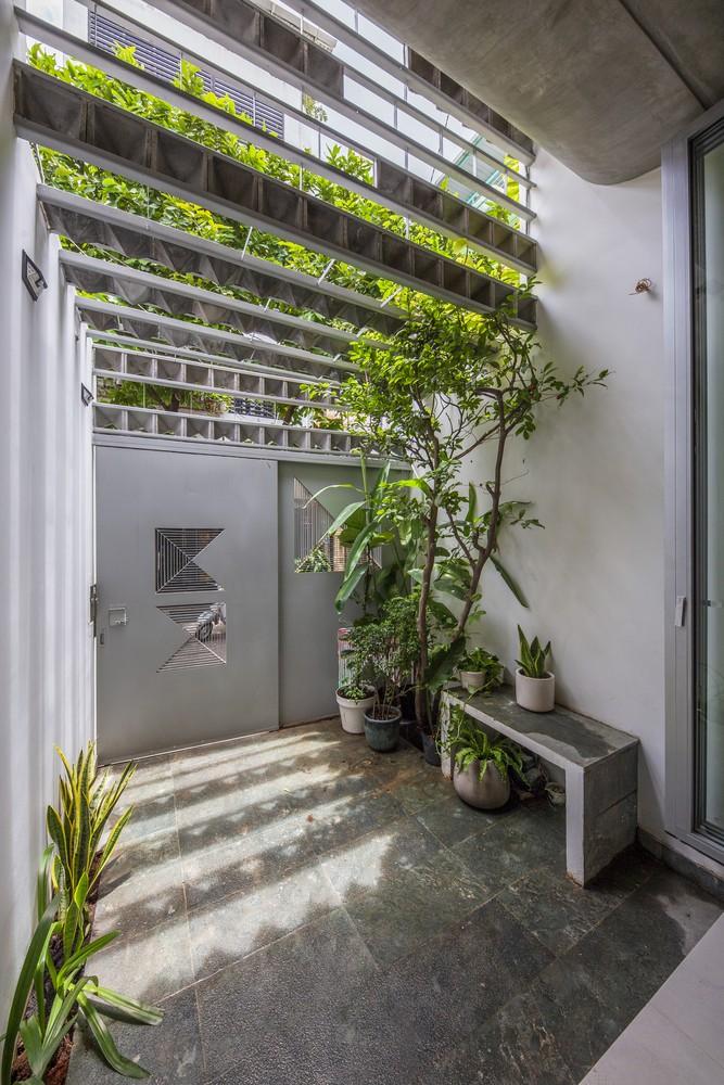 Ngắm ngôi nhà cong độc đáo giữa Sài Gòn-5