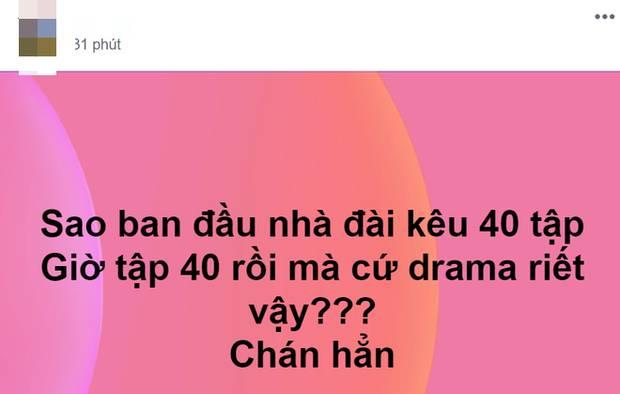 Lên sóng 40 tập nhưng vẫn chưa định kết thúc, Những Ngày Không Quên khiến netizen la ó vì quá ngán drama-3