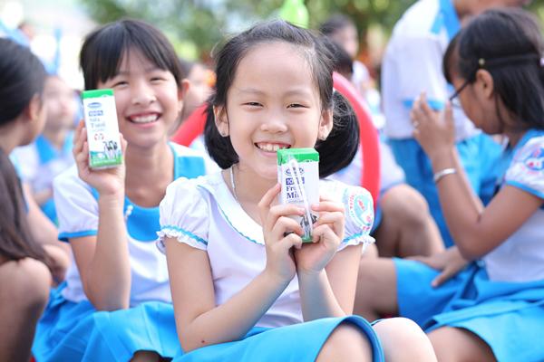 Quảng Nam chính thức triển khai chương trình Sữa học đường-4