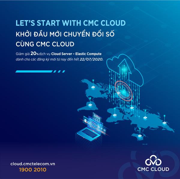 CMC giảm giá 20% cho DN sử dụng dịch vụ điện toán đám mây-1