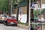 Hà Nội: Chổi lau nhà rơi từ tầng 5 chung cư cao cấp khiến bé trai vỡ đầu phải nhập viện-5