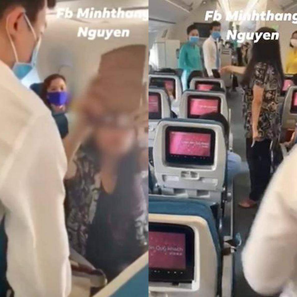 Xác minh tình trạng tâm thần của nữ khách làm loạn trên máy bay-1