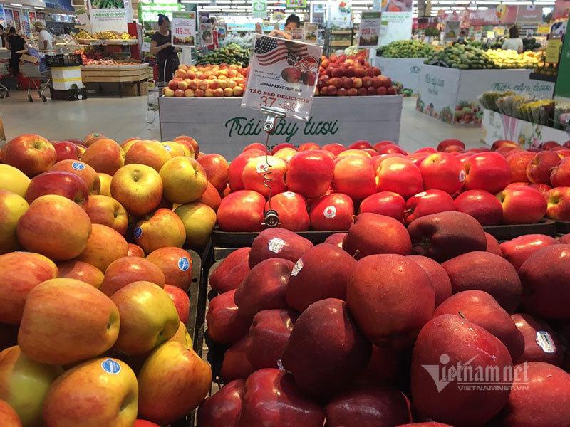 Trái cây Mỹ, Úc siêu rẻ, giá mấy chục ngàn bày bán la liệt-2