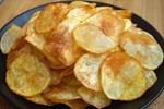 Mẹo làm khoai tây chiên lát mỏng giòn tan như bim bim
