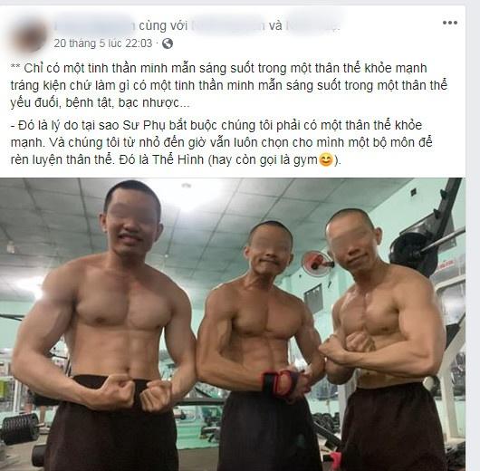 Xôn xao hình ảnh các sư thầy Tịnh Thất Bồng Lai đi resort tránh nắng, khoe body 6 múi ở hồ bơi sau ồn ào bị điều tra-2