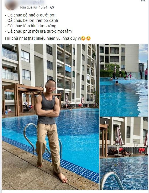 Xôn xao hình ảnh các sư thầy Tịnh Thất Bồng Lai đi resort tránh nắng, khoe body 6 múi ở hồ bơi sau ồn ào bị điều tra-4