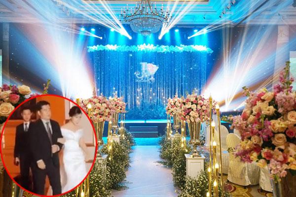 Không gian khách sạn 5 sao tổ chức tiệc đính hôn của Công Phượng