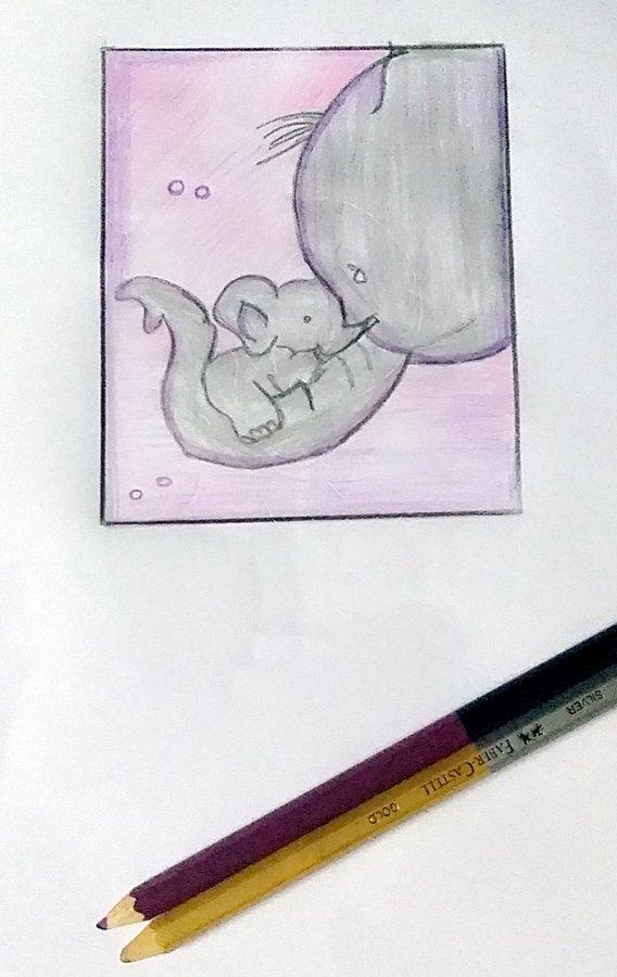 Vụ voi mẹ mang thai chết tức tưởi vì ăn phải dứa nhồi pháo nổ: Những bức tranh tưởng niệm chứa đựng nỗi đau khiến thế giới phải suy ngẫm-6