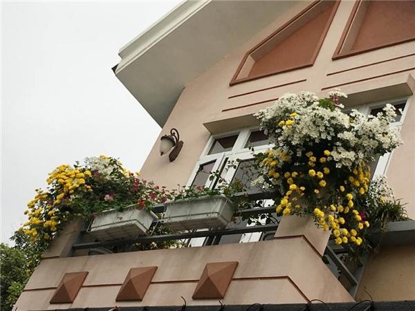 Ngắm ngôi nhà ở quê của ca sĩ Bích Phương, ngập tràn sắc hoa lung linh-1