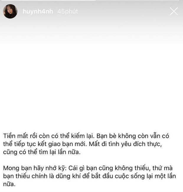 Fan mệt mỏi vì Huỳnh Anh theo dõi lại Quang Hải trong đêm, đặt lại trạng thái hẹn hò sau loạt động thái rạn nứt-3