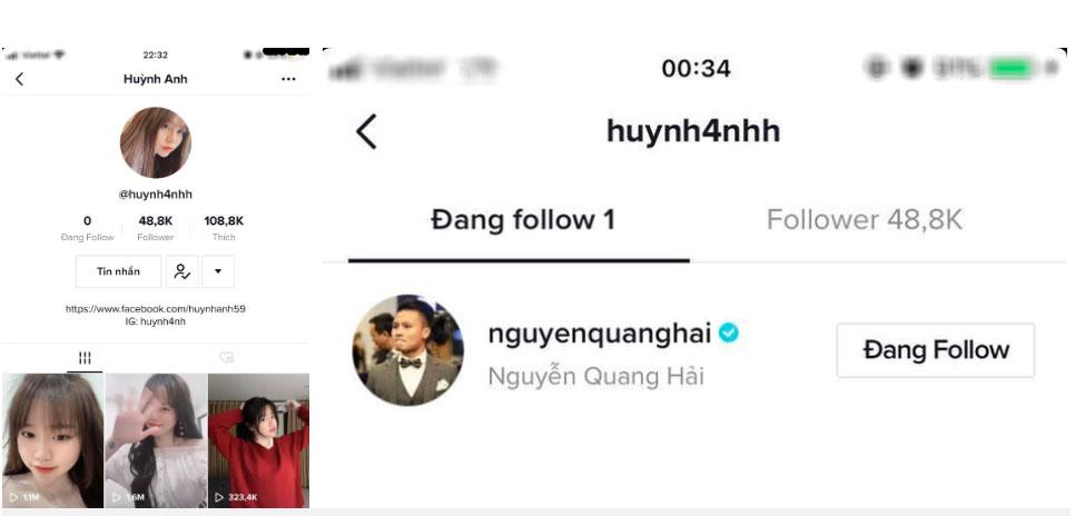 Fan mệt mỏi vì Huỳnh Anh theo dõi lại Quang Hải trong đêm, đặt lại trạng thái hẹn hò sau loạt động thái rạn nứt-2