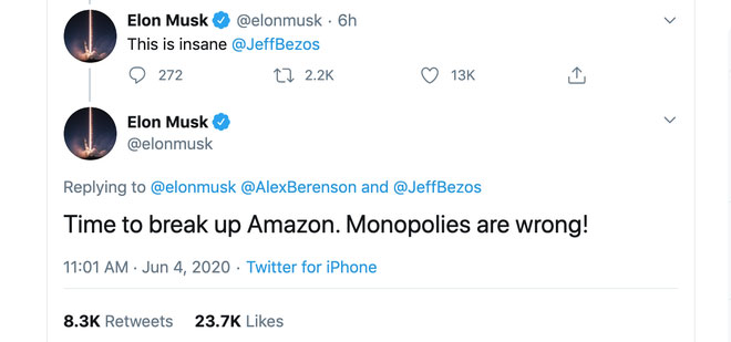 Elon Musk thách thức tỷ phú giàu nhất thế giới-2