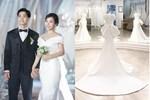 Điểm 10 hoàn mỹ dành dành cho bộ váy cưới của vợ Công Phượng: Thiết kế trễ vai nhẹ nhàng, nhưng bất ngờ nhất là giá thuê 35 triệu