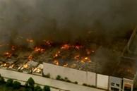 Hỏa hoạn thiêu rụi kho hàng khổng lồ 1,1 triệu m2 của Amazon ở Mỹ
