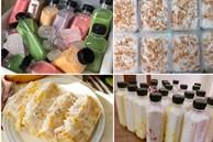 Câu chuyện của giáo viên nghỉ dạy về tự làm kem trái cây, sữa chua, trà thái, thạch dừa bán thu nhập 15 triệu/tháng