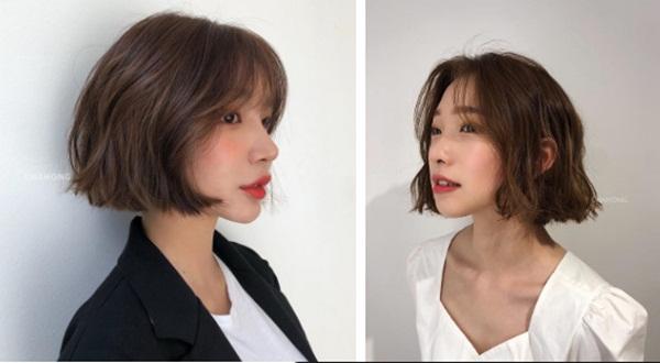 6 kiểu tóc ngắn giúp mặt nhỏ gọn như tiêm botox, các hairstylist Hàn khuyên bạn năm nay nên thử một lần-6