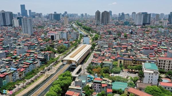 Cảnh nhếch nhác ở đường sắt Cát Linh - Hà Đông-10