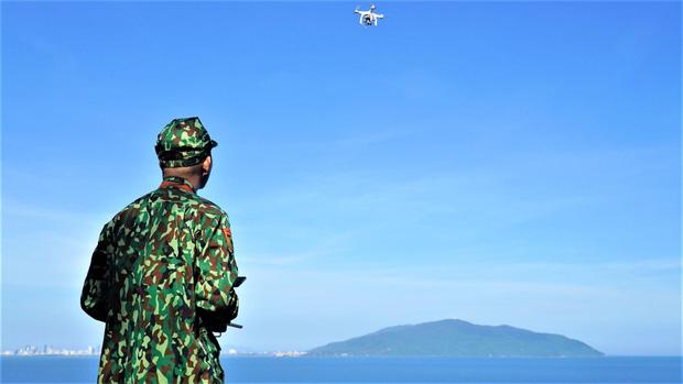 Dừng bay flycam, sử dụng cano tuần tra dọc biển truy tìm phạm nhân đặc biệt nguy hiểm 2 lần vượt ngục-1