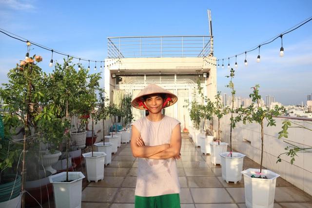 Mê mẩn khu vườn ngập tràn hoa lá của Khánh Thi, Duy Nam, Mai Ngọc-12