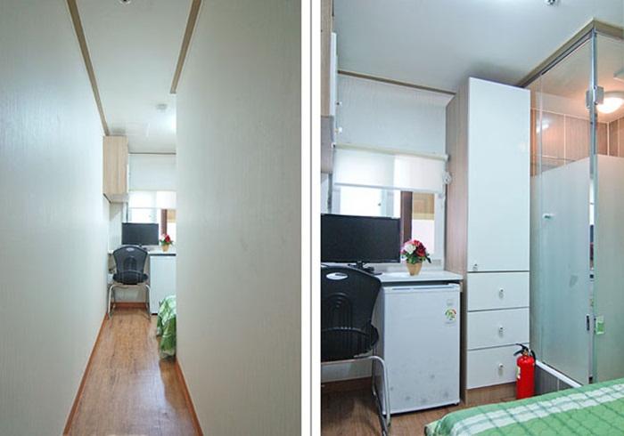 Những căn phòng tí hon chỉ 3 - 6m² nhưng chẳng thiếu thứ gì ở Hàn Quốc và Nhật Bản: Xu hướng thiết thực và được ưa chuộng của giới trẻ-4