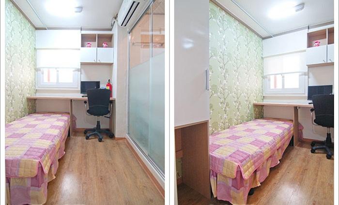 Những căn phòng tí hon chỉ 3 - 6m² nhưng chẳng thiếu thứ gì ở Hàn Quốc và Nhật Bản: Xu hướng thiết thực và được ưa chuộng của giới trẻ-6