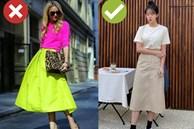 4 kiểu chân váy đã lỗi mốt trầm trọng, chị em đừng dại 'vớ' phải mà khiến phong cách xuống hạng