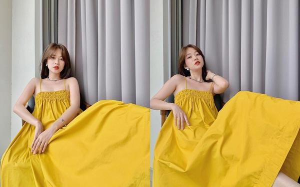Không phải đầm bầu đâu, chiếc váy này đang làm Kaity Nguyễn, Kỳ Duyên và phái đẹp mê mẩn-5
