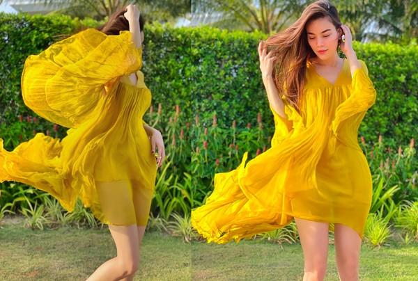 Không phải đầm bầu đâu, chiếc váy này đang làm Kaity Nguyễn, Kỳ Duyên và phái đẹp mê mẩn-11