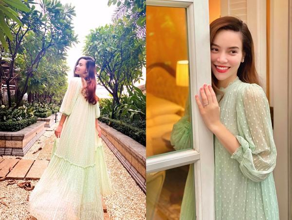 Không phải đầm bầu đâu, chiếc váy này đang làm Kaity Nguyễn, Kỳ Duyên và phái đẹp mê mẩn-12
