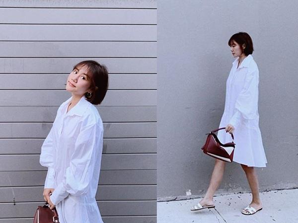 Không phải đầm bầu đâu, chiếc váy này đang làm Kaity Nguyễn, Kỳ Duyên và phái đẹp mê mẩn-14