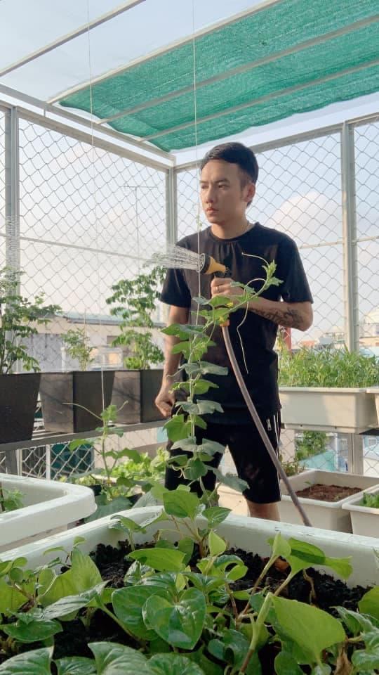 Khu vườn trĩu trái trên sân thượng của ca sĩ Phạm Trưởng-8