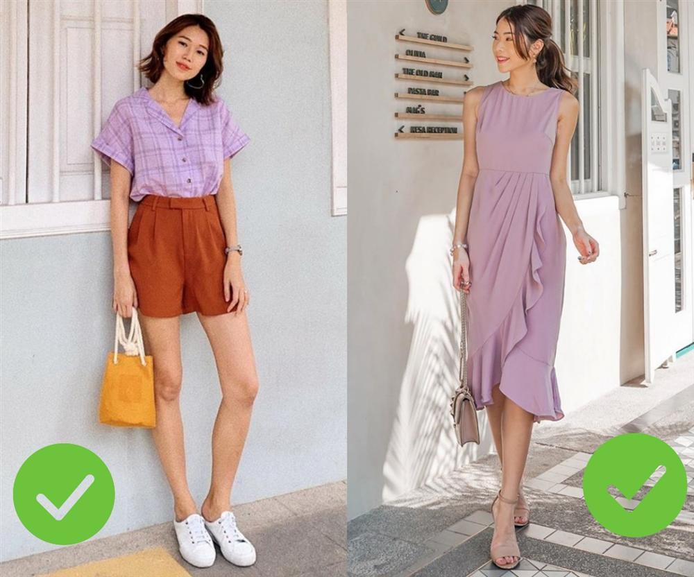Hot nhất năm nay chính là trang phục màu tím nhưng để diện đẹp mà không sến thì các nàng cần tránh 3 sai lầm sau-8