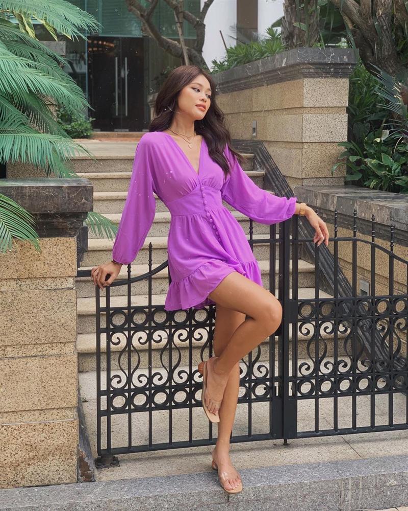 Hot nhất năm nay chính là trang phục màu tím nhưng để diện đẹp mà không sến thì các nàng cần tránh 3 sai lầm sau-13