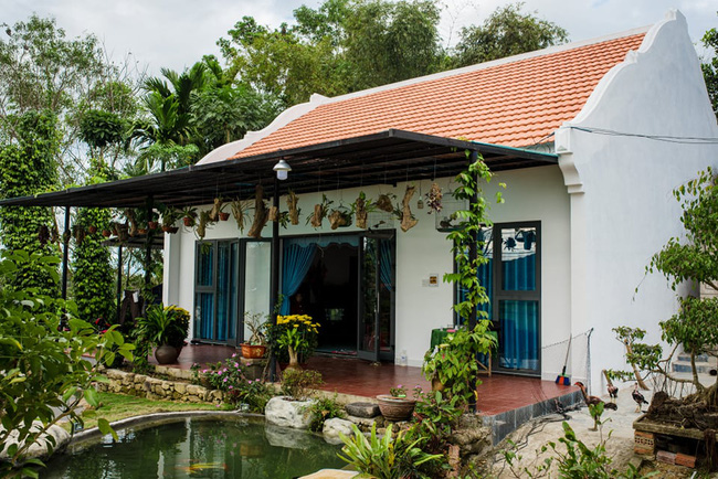 Đẹp giản dị ngôi nhà cấp 4 với chi phí 650 triệu con trai kiến trúc sư xây tặng cha mẹ dưỡng già ở Quảng Nam-17