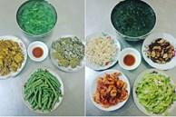 Bữa cơm 50 nghìn dành cho 5 người của bà nội trợ Kiến Xương, Thái Bình toàn món dân dã nhưng ai nhìn cũng muốn ăn
