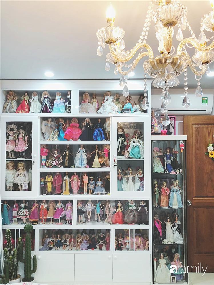 Căn hộ 80m² với phong cách vintage và bộ sưu tập hàng trăm búp bê của cô giáo dạy đàn ở thành phố biển Nha Trang-9