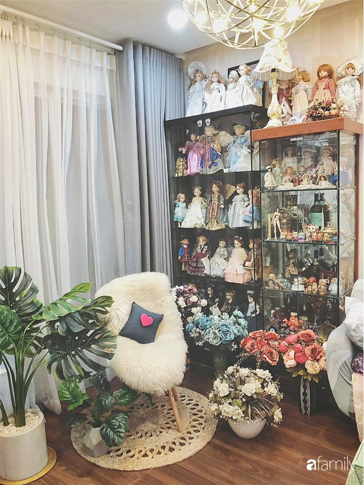 Căn hộ 80m² với phong cách vintage và bộ sưu tập hàng trăm búp bê của cô giáo dạy đàn ở thành phố biển Nha Trang-12