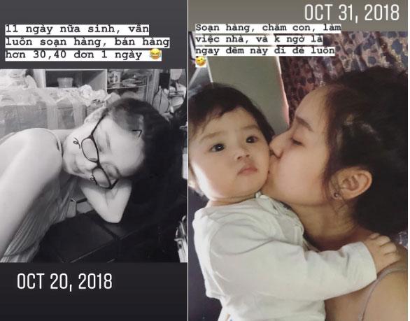 Vợ Hoài Lâm tiết lộ phải ra nước ngoài làm việc tới sát ngày sinh con-2