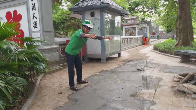 Phát hiện 7 tiểu sành chôn ngay dưới khu vực đền Ngọc Sơn-1
