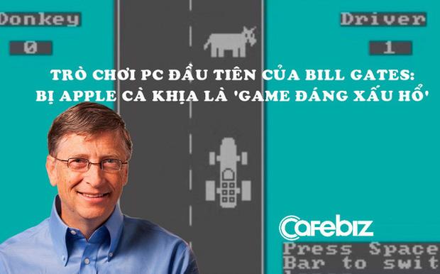 Bill Gates thức đến 4h sáng để viết game máy tính đầu tiên thế giới, bị Apple cà khịa là 'trò chơi đáng xấu hổ nhất'-1
