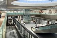 Ga ngầm metro tại TP.HCM trong tương lai
