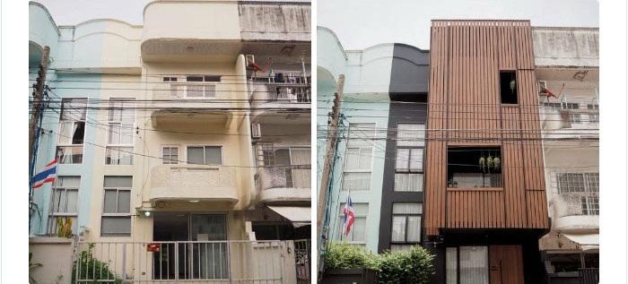 Cặp vợ chồng trẻ tạo bất ngờ khi sửa nhà phố sập sệ tối tăm thành không gian hiện đại, tiện nghi-1