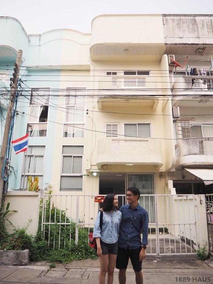 Cặp vợ chồng trẻ tạo bất ngờ khi sửa nhà phố sập sệ tối tăm thành không gian hiện đại, tiện nghi-2