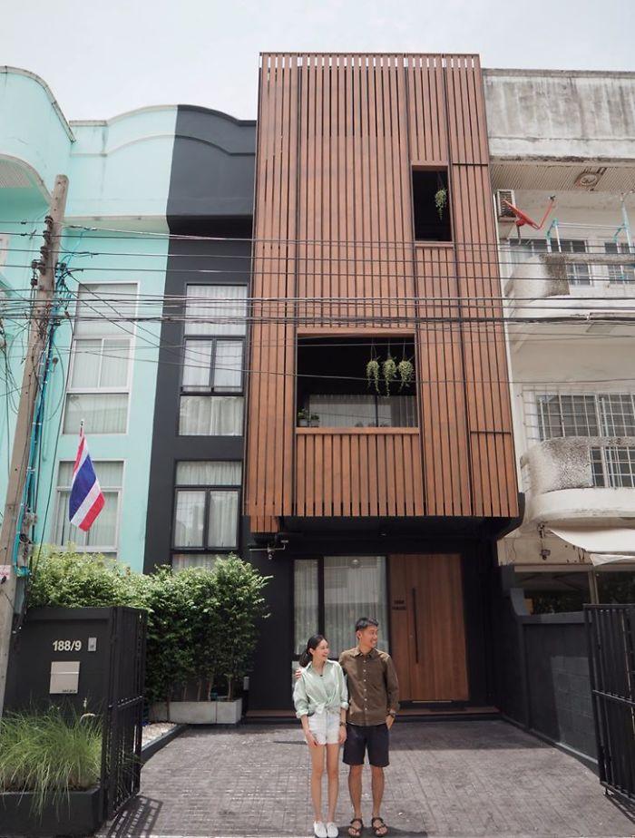 Cặp vợ chồng trẻ tạo bất ngờ khi sửa nhà phố sập sệ tối tăm thành không gian hiện đại, tiện nghi-3