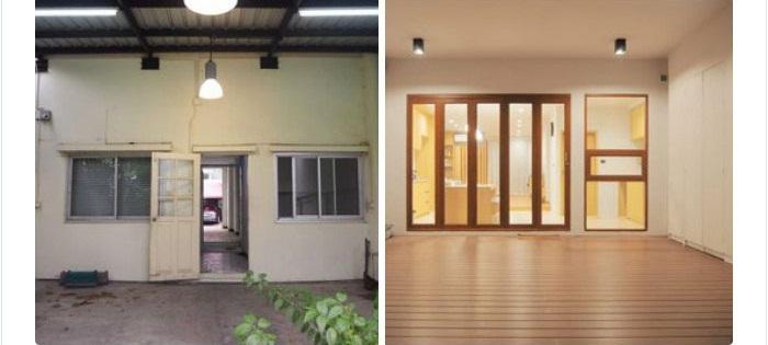 Cặp vợ chồng trẻ tạo bất ngờ khi sửa nhà phố sập sệ tối tăm thành không gian hiện đại, tiện nghi-7