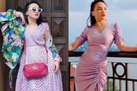 'Đu' trend diện đồ tím nhưng các chị em đừng mắc lỗi như Bảo Thanh nếu không muốn bị chê sến súa
