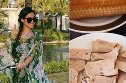 Là richkid được ăn ngon mặc đẹp từ khi mới lọt lòng, thường xuyên nếm sơn hào hải vị nhưng Tiên Nguyễn chỉ thích duy nhất 1 món Việt truyền thống này