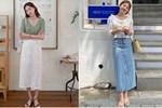 4 mẫu chân váy xinh như mộng được phụ nữ Pháp si mê từ năm này qua tháng khác, bạn sắm theo là style đã lên đời rồi-17