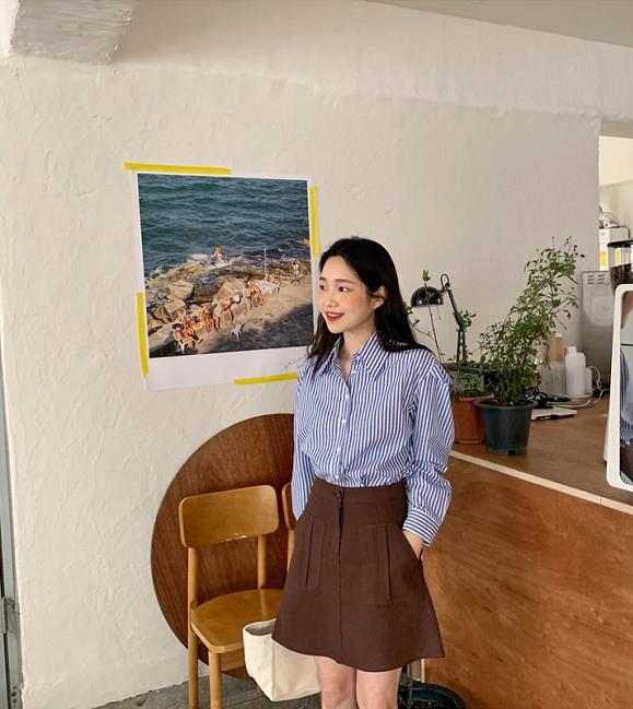 Với một chiếc áo sơ mi, nàng công sở vẫn mặc đẹp suốt cả tuần nhờ 7 công thức này-20
