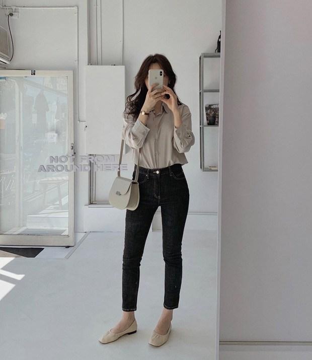 Với một chiếc áo sơ mi, nàng công sở vẫn mặc đẹp suốt cả tuần nhờ 7 công thức này-7